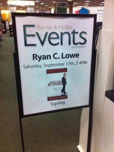 Ryan Lowe | Motivational Speaker | Barnes and Noble Book Signing | Metairie LA