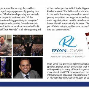 Ryan Lowe | Motivational Keynote Speaker | Positive Article