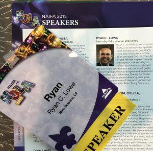 Ryan Lowe | Top Motivational Keynote Speaker | NAIFA NOLA