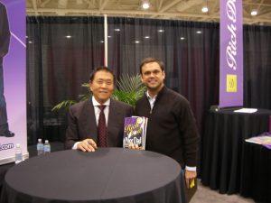 Ryan Lowe with Robert Kiyosaki - Dallas Texas